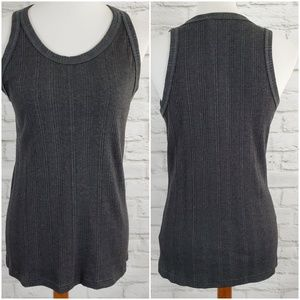 Prana Purest Tank Athleisure Yoga Charcoal Gray XL